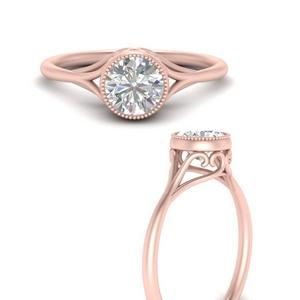 bezel-set-round-split-band-diamond-engagement-ring-in-FD10012RORANGLE3-NL-RG