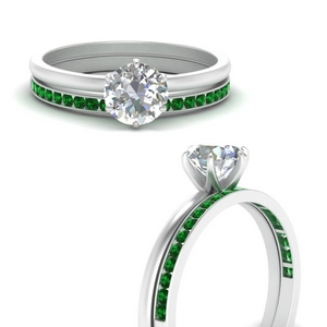 solitaire-engagement-ring-with-channel-set-emerald-band-in-FD1028RO-B2-GEMGRANGLE3-NL-WG-GS.jpg
