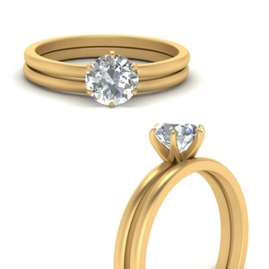 timeless-solitaire-round-engagement-ring-set-in-FD1028ROB1-ANGLE3-NL-YG