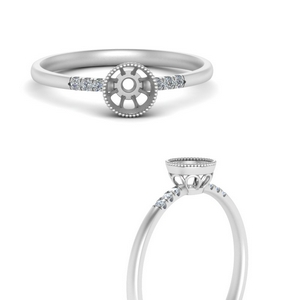 semi-mount-diamond-bezel-thin-antique-engagement-ring-in-FD121996SMRANGLE3-NL-WG