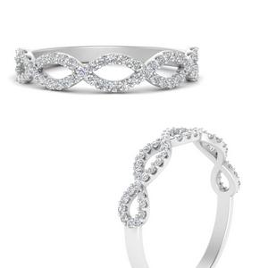Infinity Twist Wedding Ring