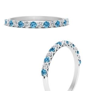 0.50-carat-u-prong-diamond-wedding-ring-with-blue-topaz-in-FDWB660GICBLTOANGLE3-NL-WG
