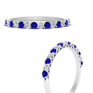 U Prong Diamond Wedding Ring