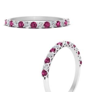 0.50-carat-u-prong-diamond-wedding-ring-with-pink-sapphire-in-FDWB660GSADRPIANGLE3-NL-WG