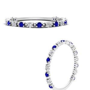 Diamond Dot Thin Stacking Ring