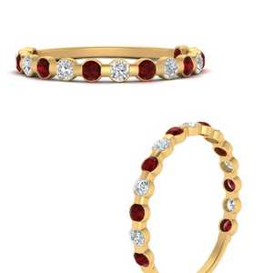 delicate-floating-diamond-wedding-band-with-ruby-in-FDENS3137BGRUDR-ANGLE3-NL-YG
