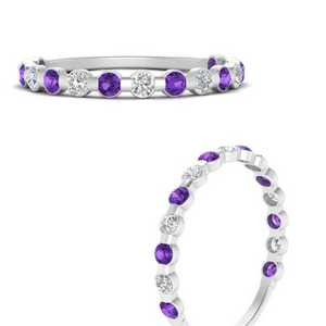 delicate-floating-diamond-wedding-band-with-purple-topaz-in-FDENS3137BGVITO-ANGLE3-NL-WG
