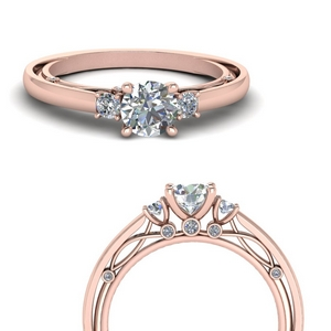 3-stone-simple-vintage-diamond-engagement-ring-in-FD123373RORANGLE3-NL-RG