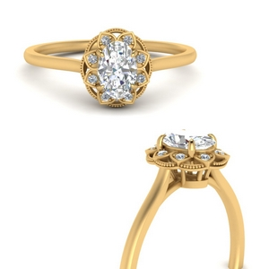 Engagement Rings With Oval Halo