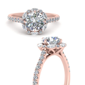 round-cut-moissanite-halo-unique-diamond-ring-in-FD66694RORANGLE3-NL-RG