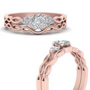 Infinity Diamond Engagement Rings