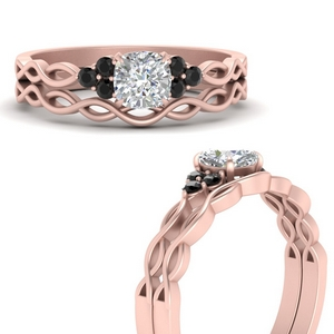 infinity-accented-cushion-black-diamond-wedding-rings-in-FD67847CUGBLACKANGLE3-NL-RG