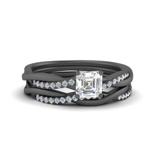 twisted-pave-asscher-cut-engagementand-wedding-ring-set-in-FD8253AS-NL-BG