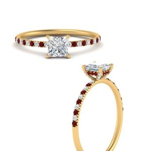 princess-cut-under-halo-pave-engagement-ring-with-ruby-in-FD8523PRRGRUDRANGLE3-NL-YG