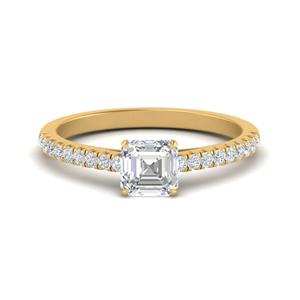 u-prong-thin-asscher-cut-diamond-engagement-ring-in-FD9154ASR-NL-YG