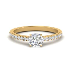 u-prong-thin-cushion-cut-diamond-engagement-ring-in-FD9154CUR-NL-YG