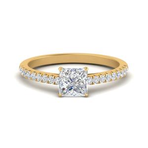 u-prong-thin-princess-cut-diamond-engagement-ring-in-FD9154PRR-NL-YG
