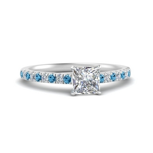 0.50 Carat Cathedral Engagement Ring