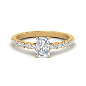 u-prong-thin-radiant-cut-diamond-engagement-ring-in-FD9154RAR-NL-YG