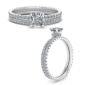 under-halo-eternity-asscher-cut-diamond-wedding-band-set-in-FD9168ASANGLE3-NL-WG