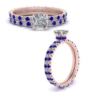 under-halo-eternity-asscher-cut-diamond-wedding-band-set-with-sapphire-in-FD9168ASGSABLANGLE3-NL-RG