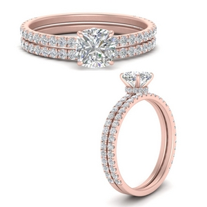 three-quarter-cushion-cut-diamond-gallery-bridal-ring-set-in-FD9168CUANGLE3-NL-RG