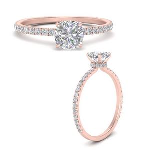 three-fourth-under-halo-cushion-cut-diamond-engagement-ring-in-FD9168CURANGLE3-NL-RG