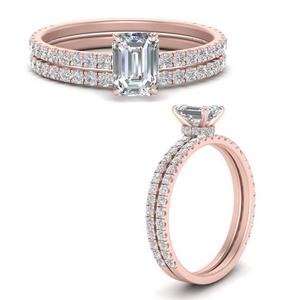 three-quarter-emerald-cut-diamond-gallery-bridal-ring-set-in-FD9168EMANGLE3-NL-RG