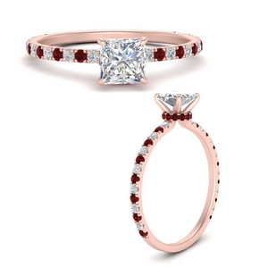 three-fourth-under-halo-princess-cut-diamond-engagement-ring-with-ruby-in-FD9168PRRGRUDRANGLE3-NL-RG
