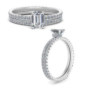 under-halo-eternity-emerald-cut-diamond-wedding-band-set-in-FD9168EMANGLE3-NL-WG