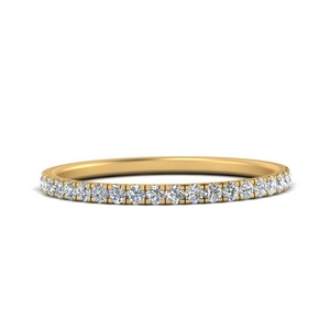 French Prong Eternity Diamond Ring