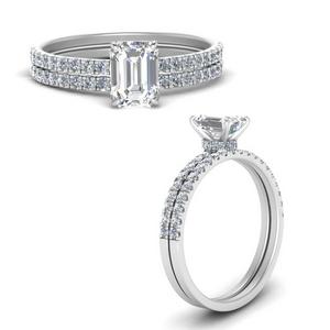 hidden-halo-half-way-emerald-cut-diamond-wedding-ring-set-in-FD9168EMANGLE3-NL-WG