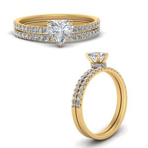 hidden-halo-half-way-heart-shaped-diamond-wedding-ring-set-in-FD9168HTANGLE3-NL-YG