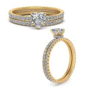 under-halo-eternity-heart-shaped-diamond-wedding-band-set-in-FD9168HTANGLE3-NL-YG