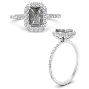 salt-and-pepper-emerald-cut-halo-engagement-ring-in-FD9376EMRGGRYANGLE3-NL-WG