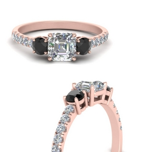 petite-micropave-asscher-cut-three-stone-engagement-ring-with-black-diamond-in-FD9383ASRGBLACKANGLE3-NL-RG
