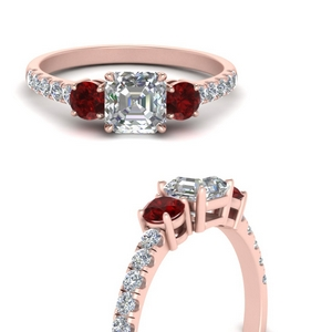 petite-micropave-asscher-cut-three-stone-diamond-engagement-ring-with-ruby-in-FD9383ASRGRUDRANGLE3-NL-RG