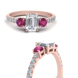 petite-micropave-emerald-cut-three-stone-diamond-engagement-ring-with-pink-sapphire-in-FD9383EMRGSADRPIANGLE3-NL-RG