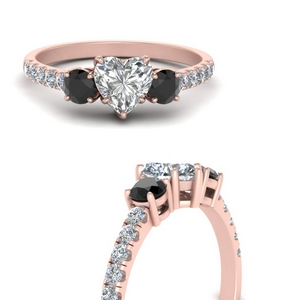 petite-micropave-heart-shaped-three-stone-engagement-ring-with-black-diamond-in-FD9383HTRGBLACKANGLE3-NL-RG