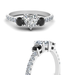 petite-micropave-heart-shaped-three-stone-engagement-ring-with-black-diamond-in-FD9383HTRGBLACKANGLE3-NL-WG