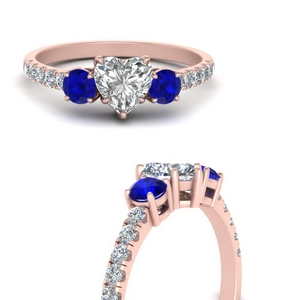 petite-micropave-heart-shaped-three-stone-diamond-engagement-ring-with-sapphire-in-FD9383HTRGSABLANGLE3-NL-RG