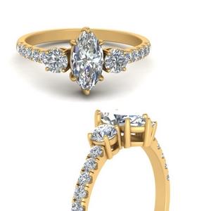 petite-micropave-marquise-cut-three-stone-diamond-engagement-ring-in-FD9383MQRANGLE3-NL-YG