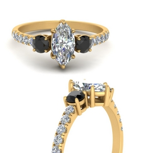 petite-micropave-marquise-cut-three-stone-engagement-ring-with-black-diamond-in-FD9383MQRGBLACKANGLE3-NL-YG