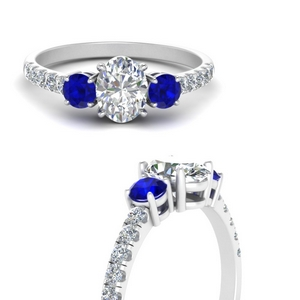 petite-micropave-oval-shaped-three-stone-diamond-engagement-ring-with-sapphire-in-FD9383OVRGSABLANGLE3-NL-WG