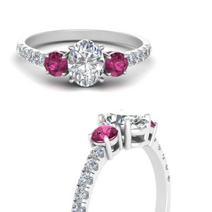 petite-micropave-oval-shaped-three-stone-diamond-engagement-ring-with-pink-sapphire-in-FD9383OVRGSADRPIANGLE3-NL-WG