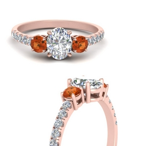 petite-micropave-oval-shaped-three-stone-diamond-engagement-ring-with-orange-sapphire-in-FD9383OVRGSAORANGLE3-NL-RG