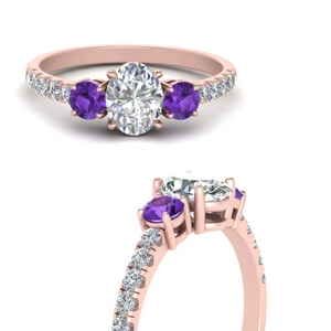 petite-micropave-oval-shaped-three-stone-diamond-engagement-ring-with-purple-topaz-in-FD9383OVRGVITOANGLE3-NL-RG