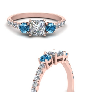 petite-micropave-princess-cut-three-stone-diamond-engagement-ring-with-blue-topaz-in-FD9383PRRGICBLTOANGLE3-NL-RG