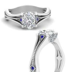 vintage-floral-oval-shaped-diamond-engagement-ring-with-sapphire-in-FD9475OVRGSABLANGLE3-NL-WG