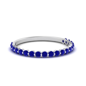 Sapphire Stacking Band